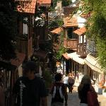 One of the streets in KAS