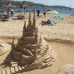 sand sculptors in puerto pollensa