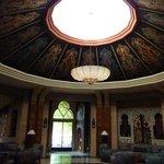 le salon marocain rond