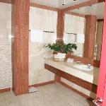 Right  hand side of bathroom