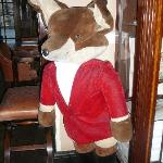In the lobby -- Snooty Fox Hotel
