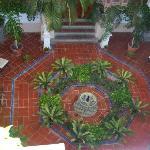 Indoors Fountain and Garden