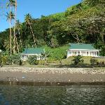Beach to villa