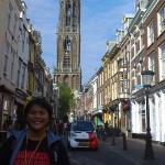 The Dom Cathedral in Utrecht.