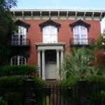 Mercer Williams House Museum.  Former home of Jim Williams (Midnight in the Garden of Good and E
