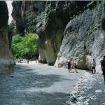 Saklikent (Hidden City) Gorge is the second-largest (20 km-long) gorge in Europe, the longest an