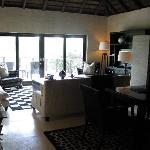 Main indoor lounge area