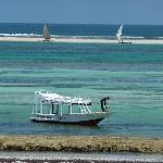 Diani Beach view from Baobab Beach hotel