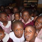 Children at Ukunda Village school