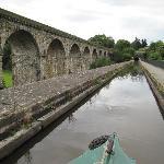 Crossing Chirk Aqueduct
