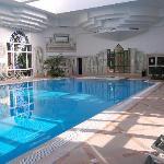 le piscine intérieure