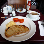 My breakfast, just as ordered and very good it was.