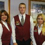 Front desk staff :Chantal , Andrew & Jamie