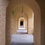 Walkway By Pool Area