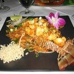 Lobster Pad Thai - mmmm