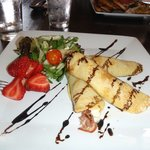 Proscuitto crepes!