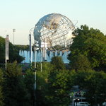 site of the World's Fair in early 60's and now Billie Jean King Tennis Center