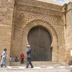 Entrada principal de la ciudad antigua