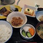 Traditional Japanese breakfast, Sumisho Hotel Tea Room
