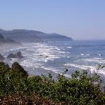 View from lookout near Cannon Beach