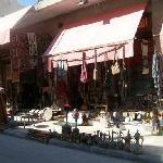 A souvenir store front