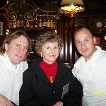 wife, Mr.Depardieu,&  Chef Laurant