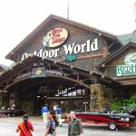 The largest outdoor store in the world - Bass Pro - and the best!
