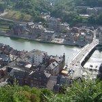 Dinant, Belgique, du haut de la citadelle