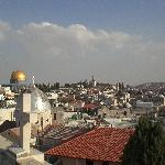 View of Jerusalem from roof top