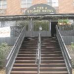 Golden Hotel entrance