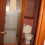 Bathroom in Blossom cabin