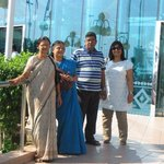 Marina Mall, with Amma, GK and AK