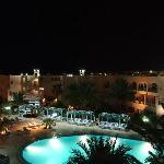 Hotel courtyard/garden