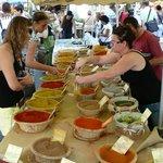 Saturday market in Arles