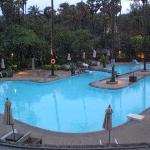 L'une des 2 piscines, très agréables