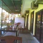 The balcony @ Hotel Ramon