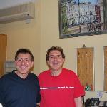 The twins, Peter & Bernard