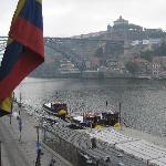 El puente Dom Luis I desde la 302