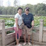 My Dad and I in Kunming, China where Paul and I lived for a little over 5 years.