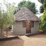 My room at the Keys Hotel, Moshi, Tanzania