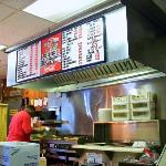 Grill and lunch counter