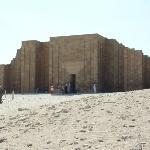 Imhotep's tempel ved Sakkara