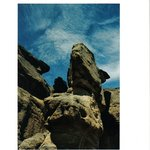 Guanaco de Piedra. Cuevas del Walichu, El Calafate, Santa Cruz.