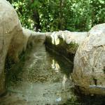 Sistema de riego y distribución de agua de la época de los musulmanes