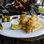Pacific Resort, Aitutaki - Fish & Chips