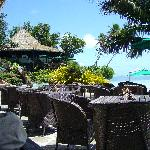Pacific Resort, Aitutaki - Black Rock Cafe