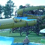 swimming slide