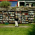Outdoor books - honor pay system