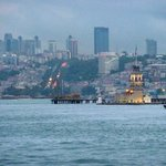 Girl Tower in the middle of the Bosphorus