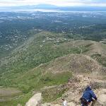 From our hike on Flattop